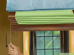 How To Make Window Blinds - how to make blinds with pictures wikihow