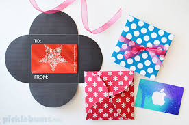 gift card holder free printable gift card holders picklebums