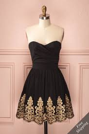 Black And Gold Lace Prom Dress 259 Best Dresses Images On Pinterest Short Dresses And