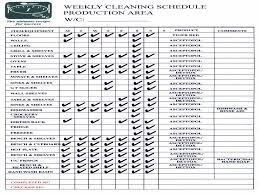 Checklist For Building A House Kitchen Cleaning Schedule Template Virtren Com