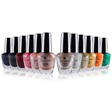 the metallic collection nail polish set 12 futuristic shades
