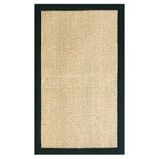 area rugs home decorators home decorators collection marblehead sisal black 9 ft x 12 ft