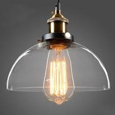 Globe Ceiling Light Fixtures by Half Globe Vintage Industrial Ceiling Lamp Glass Pendant Lighting