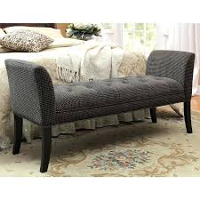Bed Ottoman Bench Wonderfull Bedroom Ottoman Bench Photos Large Size Of Upholstered