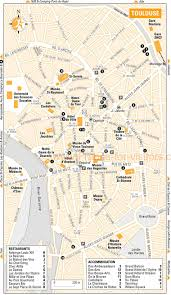 New Orleans Hotels Map by Toulouse Map