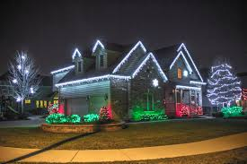 cheap white christmas lights residential christmas lights naperville american holiday lights