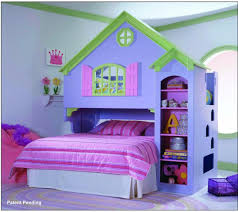 House Theme Beautiful Bed Pics Imanada Purple House Theme Girls Frame With
