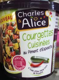 courgettes cuisin s courgettes cuisinées au piment d espelette charles 375 g