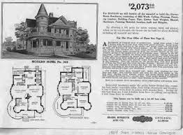 Victorian Home Floor Plan Sears Homes Old Catalog Old House Web