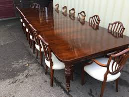 14 9ft grand antique victorian walnut dining table cc french
