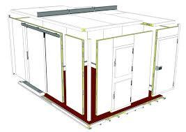 panneaux de chambre froide chambres froides et chambres de congélation godfrin réfrigération