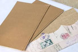 cardstock for wedding programs wedding programs from burlap and vintage patterned paper