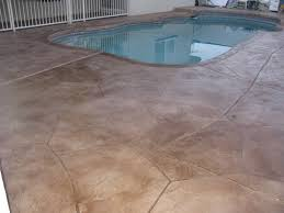 cool decking for around pools this is a two part color scheme