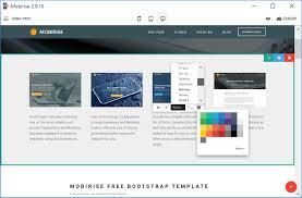 web design software freeware responsive mobile website builder
