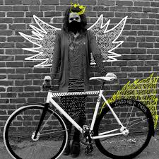 fixie design design fixed gear illustration photography black and white