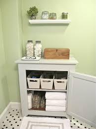 simple bathroom storage design ideas with white cabinet creative