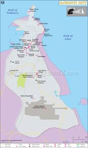 Casino Locator Map Map Of Djibouti City Capital Of Djibouti