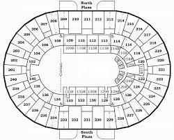 seating charts north charleston coliseum u0026 performing arts center