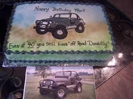happy birthday jeep cake custom matched jeep cake cakecentral com