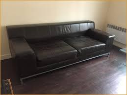 ikea canape cuir attrayant canape cuir marron design canapé cuir 3 places ikea