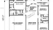 1500 Sq Ft Ranch House Plans Square Foot House Plans Ranch Floor Plan With Basement Sq Ft In