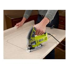Ryobi 5 Portable Flooring Saw by Ryobi Zrjs481lg 4 8 Amp Variable Speed Orbital Jigsaw Ebay