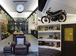 garage living space james van der velden revs garage into a personalized living