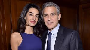 is amal clooney hair one length george clooney opens up on wife amal at 52 i found the love of