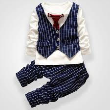 boys light blue dress pants fashion party wedding baby boys girls children s tie dress stripe