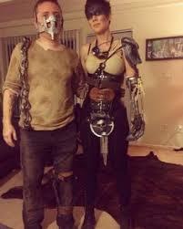 Mad Max Halloween Costume Diy Mad Max U0027s Imperator Furiosa Costume Easy U0026 Chic Disfraz