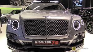 2018 bentley bentayga 710 performance by startech exterior and