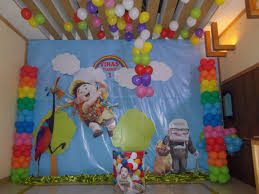 disney birthday decorations up inspired theme noah