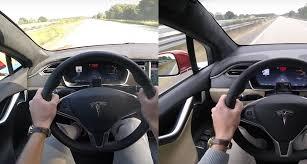 tesla model x p90d vs model s 0 155 mph acceleration comparison