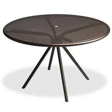 42 Patio Table 42 Perforated Steel Mesh Table Pool Patio Furnishings