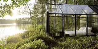 She Shed Kit This Glass Cabin Surrounded By Spectacular Views Is The Ultimate