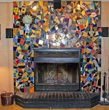 fireplace mantels lowes vacuum slayer glass mosaic surround design