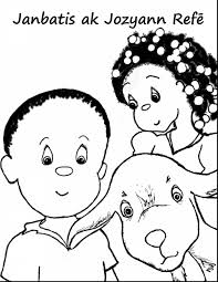 unbelievable haiti coloring book pages with eye coloring page