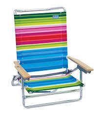 rio folding beach table amazon com rio beach 5 position classic lay flat beach chair
