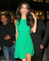 is amal clooney hair one length amal clooney can t escape the plight of bunions amal clooney