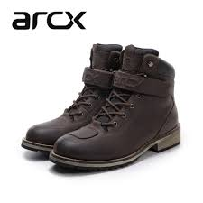 street bike riding shoes arcx cow leather motorcycle boots waterproof moto shoes street