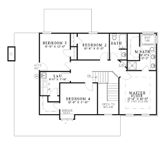 colonial house plans second floor plan of colonial house plan 61246 just dreaming