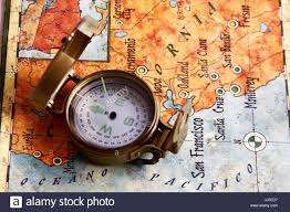 map of usa with compass compass map usa pacific city state indicato