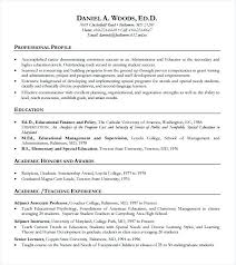 sample teacher resume template teaching resume with owl example