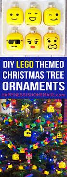 lego themed tree lego ornaments lego and