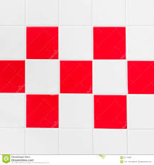 red and white tiles stock photo image 61179965