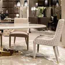 high end gold oval designer dining table set juliettes interiors