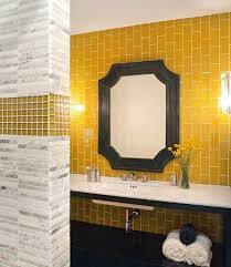 Bathroom Tiles Decorating Ideas Ideas by 25 Modern Bathroom Ideas Adding Sunny Yellow Accents To Bathroom
