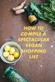 getting started in raw foods grocery shopping list and