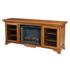Fireplace Console Entertainment by Amish Fireplaces Amish Furniture Shipshewana Furniture Co