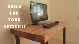 diy computer desk genius home design how to youtube